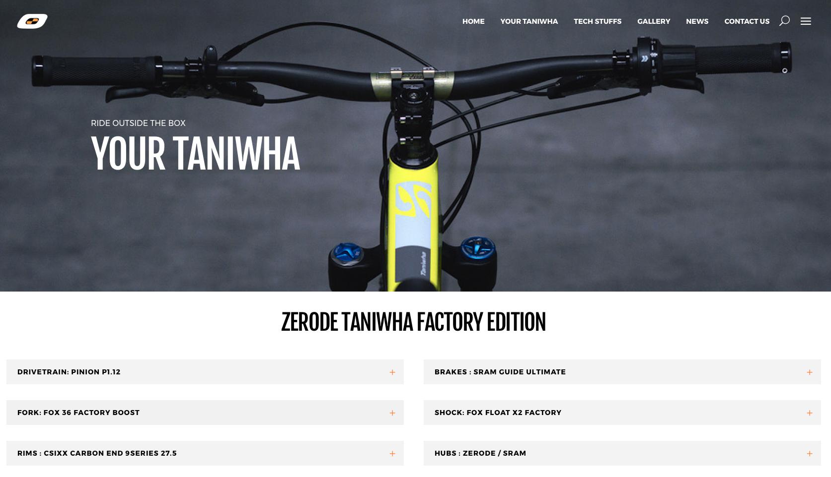 Zerode Taniwha website