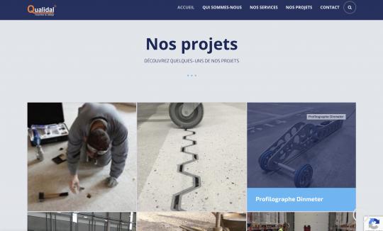 LastShore takes care of Qualidal's website