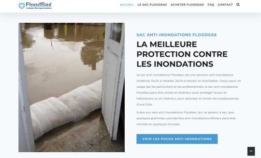 LastShore takes care of Floodsax website